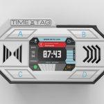 Интерактивный браслет таймтаг в новом дизайне