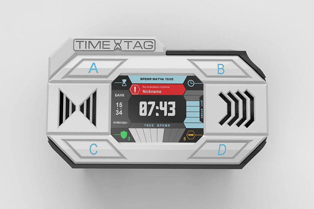 Игровая консоль для сценарных игр, таймтаг и лазертаг